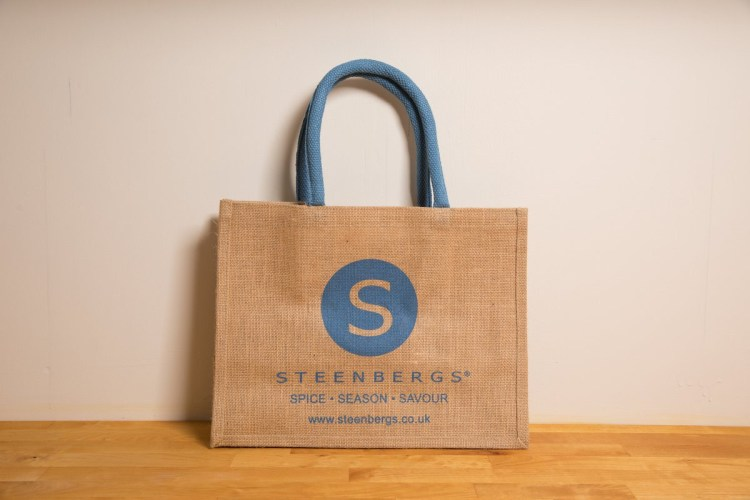 Steenbergs: shopping bag
