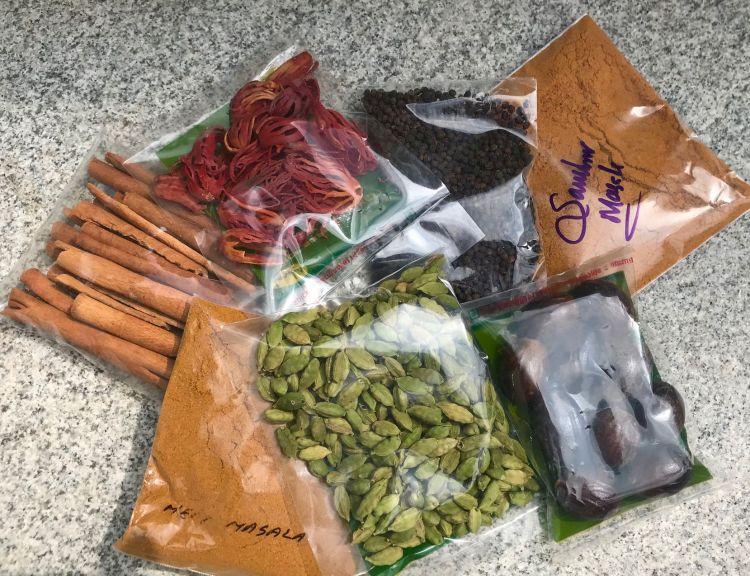 Kerala: spices