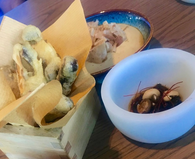 Beau Constantia: mushrooms