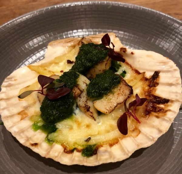 The White Onion: scallops