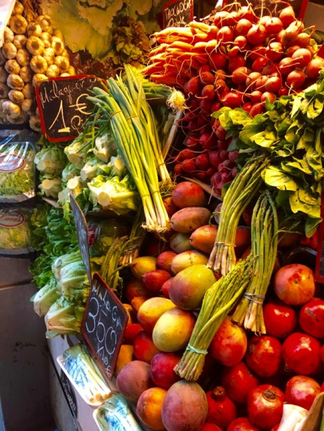 Malaga: fruit and veg