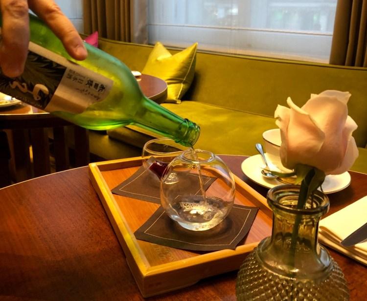 Mandarin Oriental: sake
