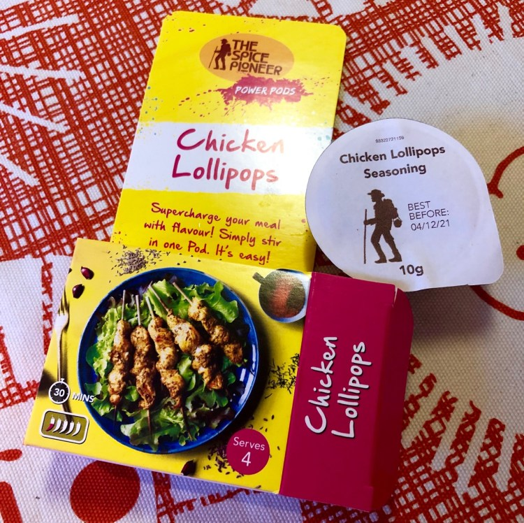 The Spice Pioneer: Chicken Lollipops