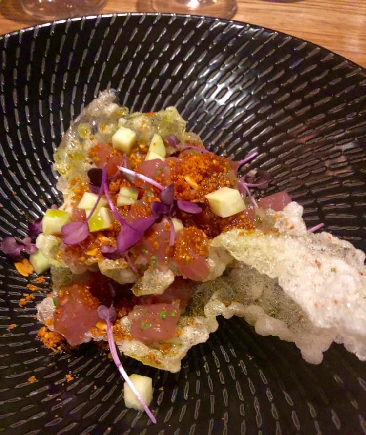 La Mouette: tuna tartare