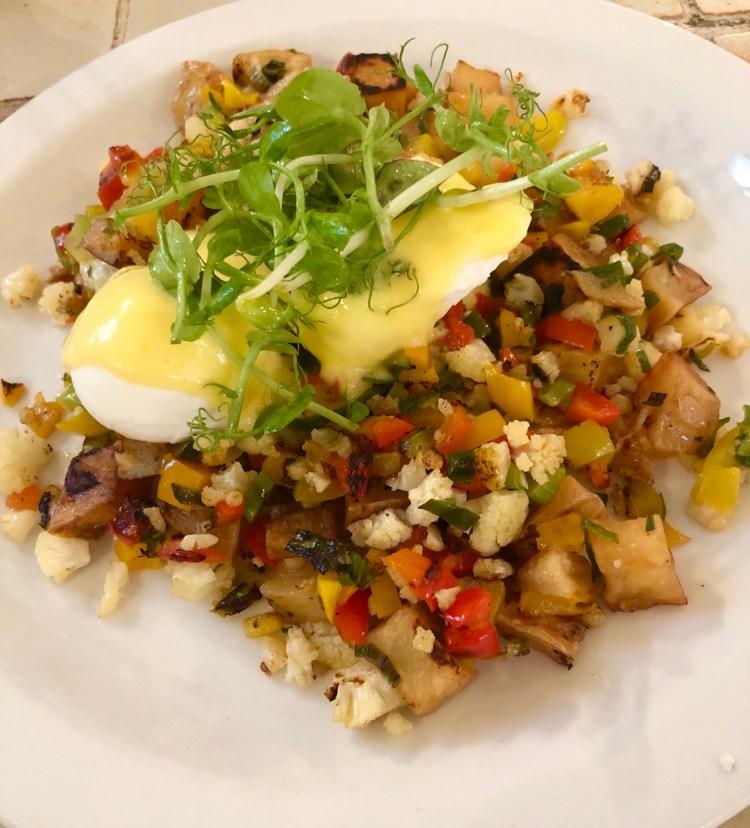 Clarke's: Hash eggs