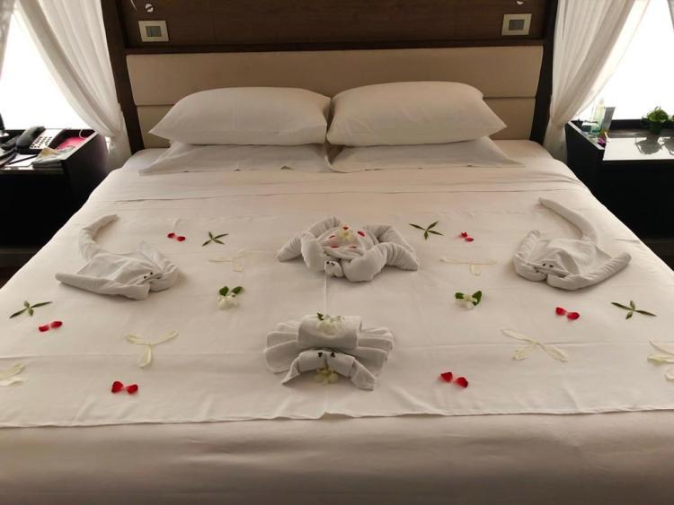 The Sarojin: bed art