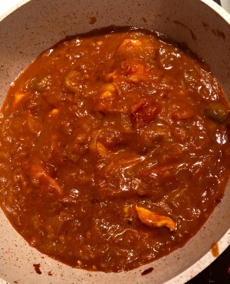 Recipe: Lockdown chicken curry
