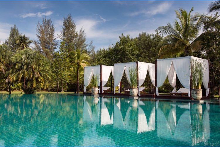 The Sarojin: the pool