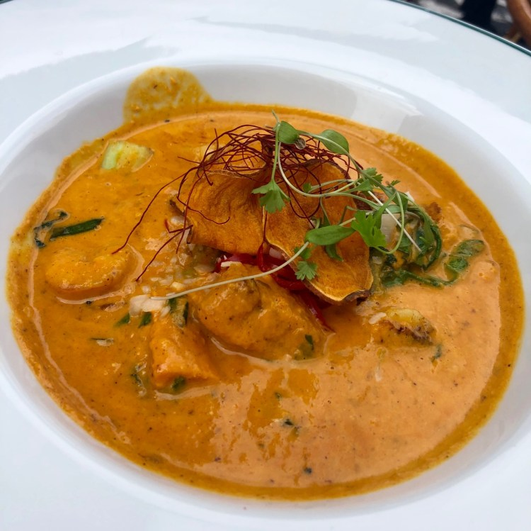 The Ivy Market Grill: Keralan curry