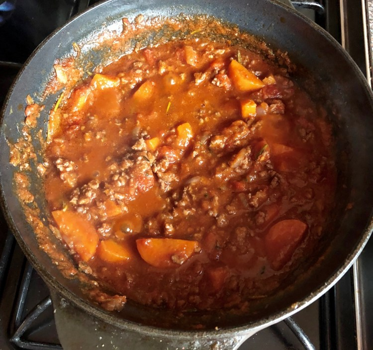 Cooking with Nonna: ragu