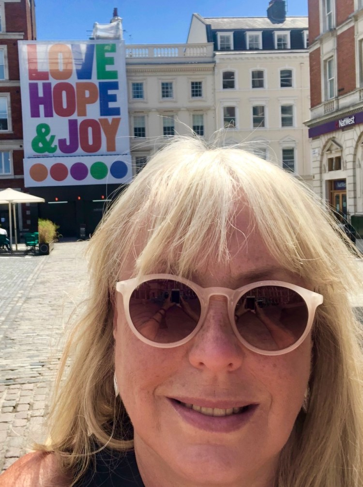 The Ivy Market Grill: love, hope & joy