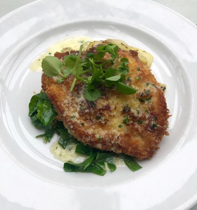 The Wheatsheaf: schnitzel