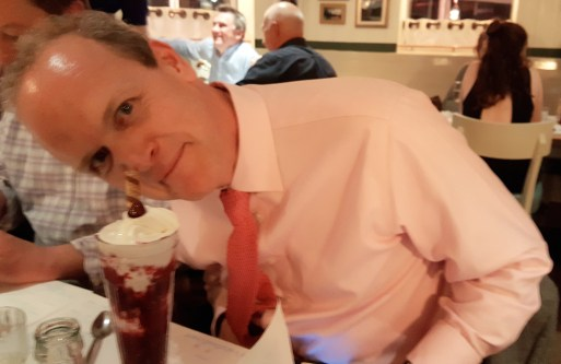 Andy Cooper of Devon Life 'nose' a good pudding when he sees one!