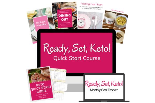 keto quick start course materials