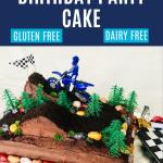 Motocross Birthday Cake Eating Gluten And Dairy Free