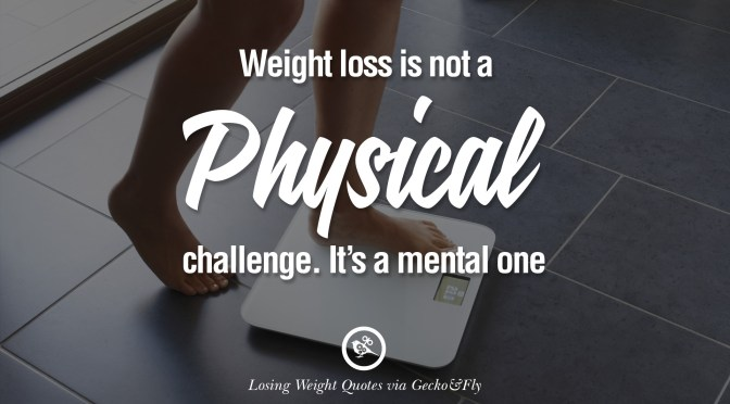 Mental Weight Loss