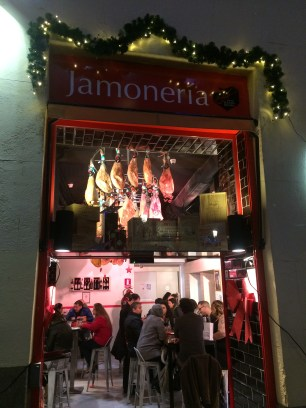 Jamóneria on Calle Arenal
