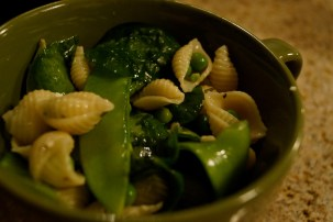 Pea and Pasta Salad