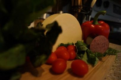 Italian Chopped Salad Ingredients