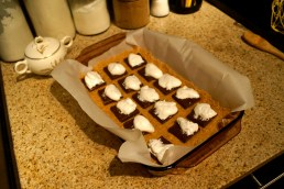 Step 2: Chocolate and Marshmallow Fluff