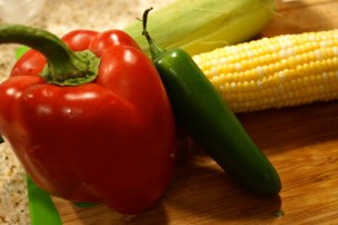 Ingredients for Southwest Calico Corn