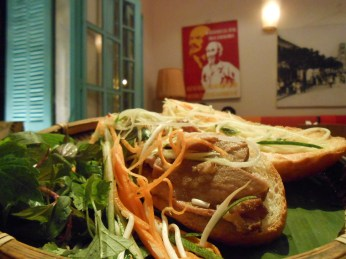 Bah mi Vietnamese Sandwich