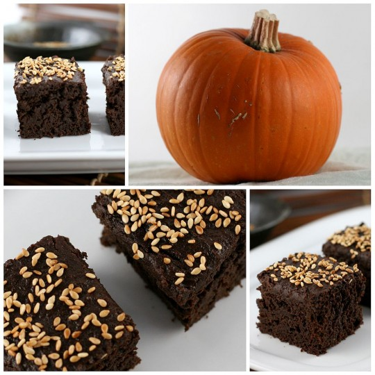 Pumpkin Brownie Collage
