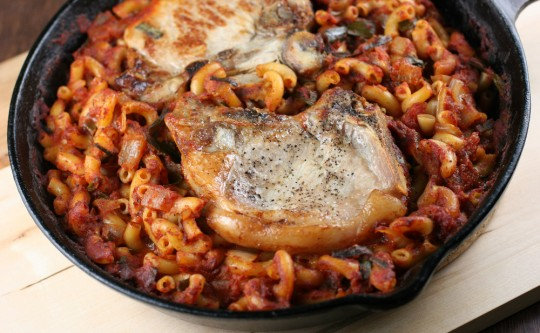 Baked Goulash with Pork Chops Recipe