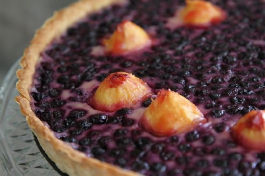 Blueberry Buttermilk Tart Recipe