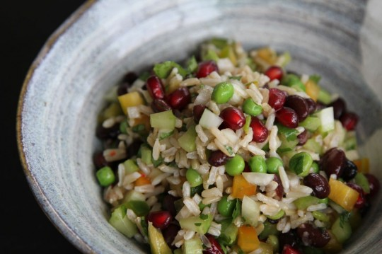 Brown Rice Healthy Salad Recipe