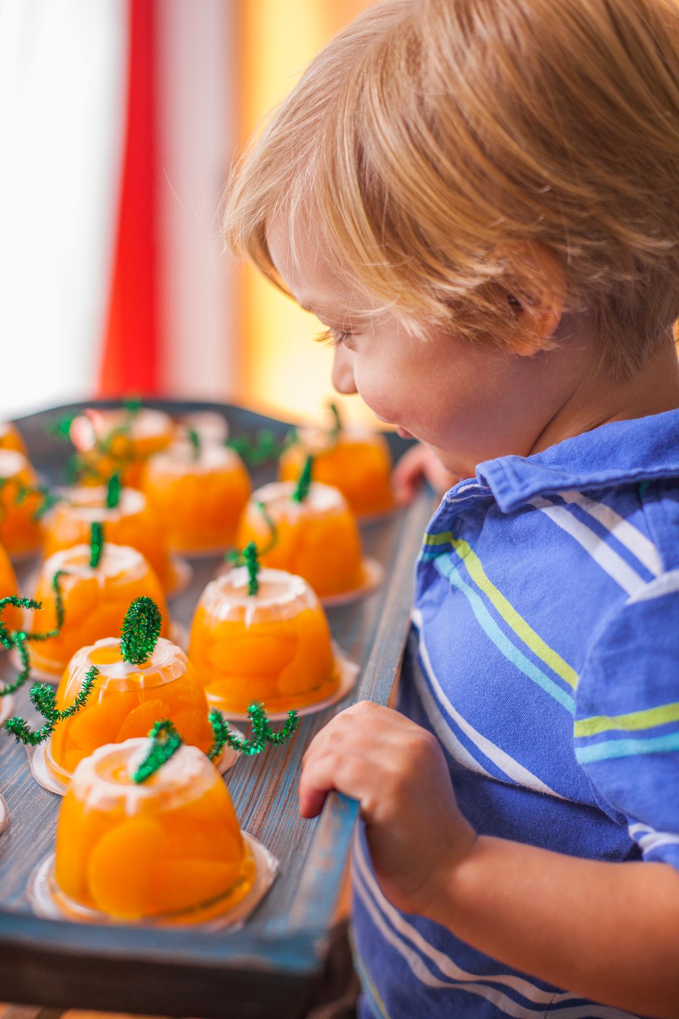 Halloween Fruit Cups Your Preschooler Can Make