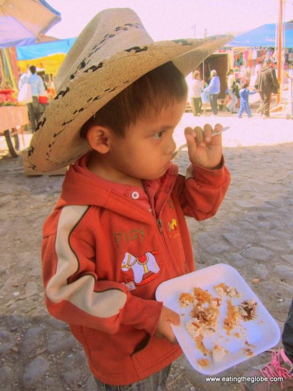 Tuesday market child
