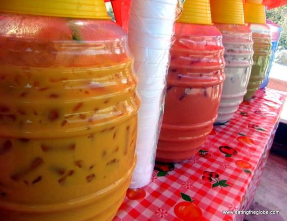 """Agua fresca at the tuesday market/""""El Tianguis"""""""