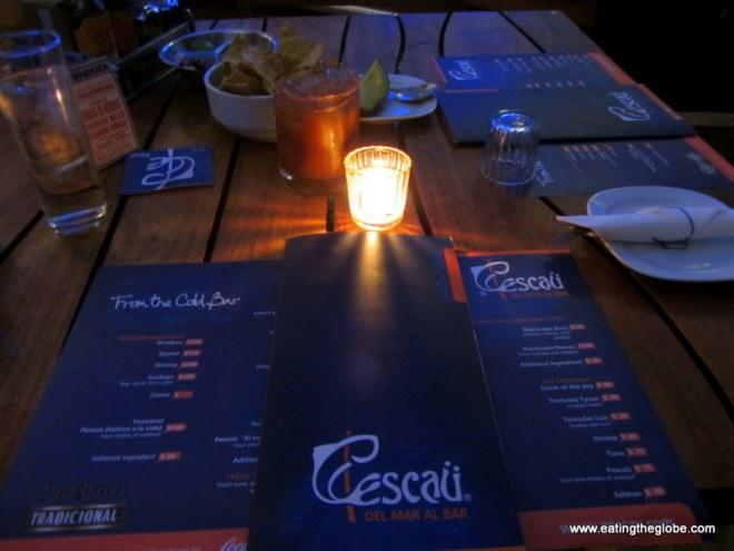 Pescau Restaurant in San Miguel de Allende