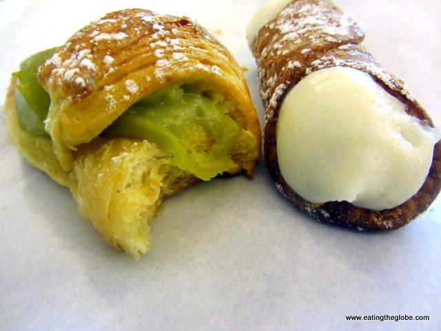 Cannoli and Pistachio Croissant