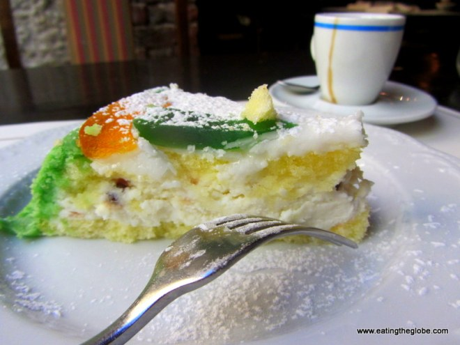 Cassata Siciliana cake