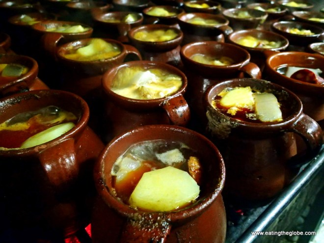 Soup from Galicia, Spain