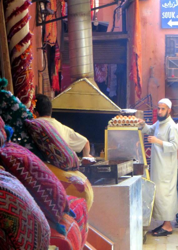 Morocco medina