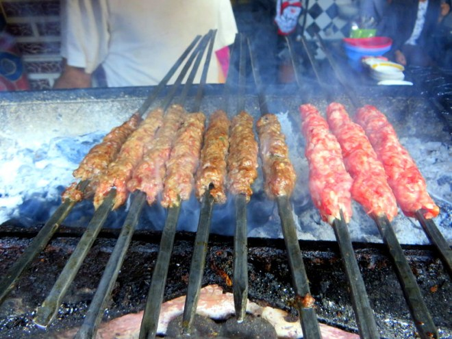 Kofta Sizzling On The Grill
