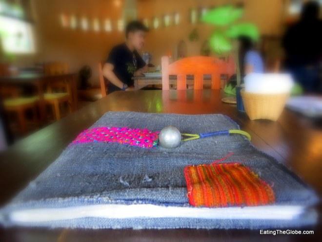 Dindee Cafe Chiang Mai menu