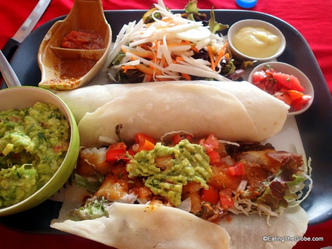 The best Mexican food in Chiang Mai, Salsa Kitchen fish tacos