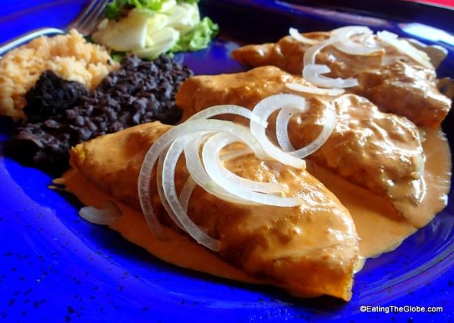 Salsa Kitchen chicken enchiladas