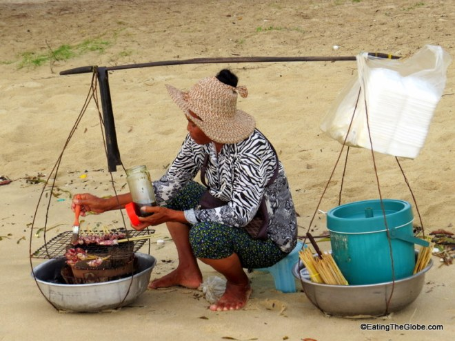 beach food otres beach cambodia
