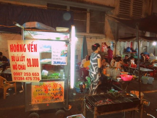 Saigon food bo la lot
