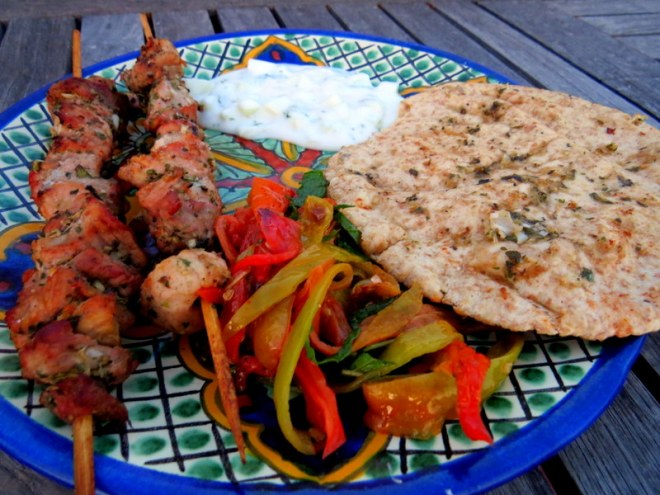 Souvlaki from Greece