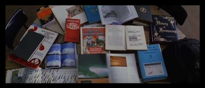 Books Stanley was reading, from the film MAGNOLIA by Paul Thomas Anderson
