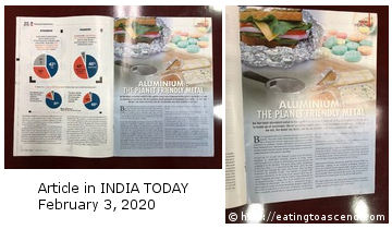 Aluminum in INDIA TODAY 3Feb2020