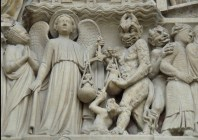 Medieval relief-demons-ancient-aliens