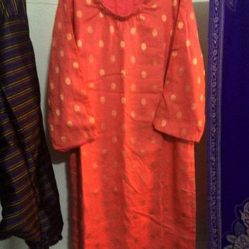 Punjabi Suit Handmade by Gramma 30Jan2020c