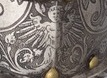 ARMOR OF EMPOROR FERDINAND TAPPING INTO POSEIDON SATAN THIGHS DETAIL L LUCIFER